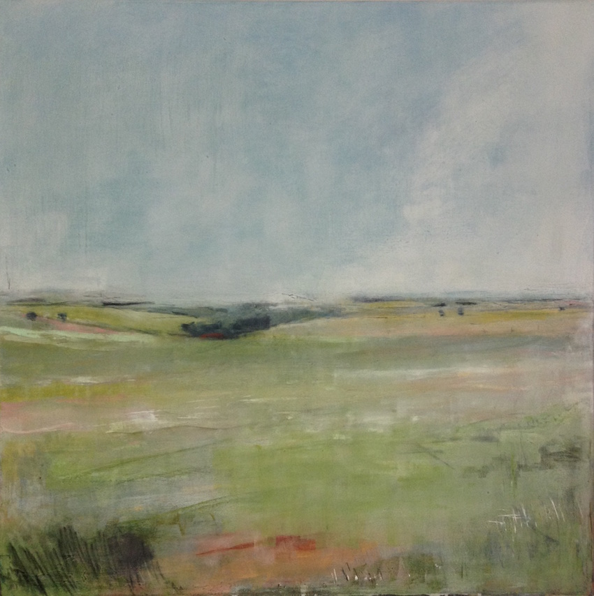 Firle, 2014, SOLD £1800Oil, graphite, charcoal and pastel on canvas