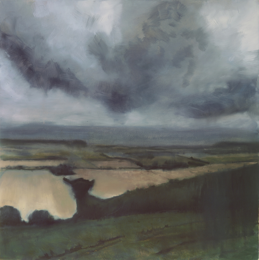 Towards Carurn and Firle, £1700, SOLD, Oil on canvas